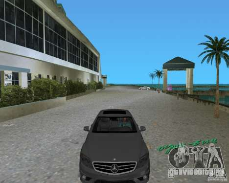 Mercedess Benz CL 65 AMG для GTA Vice City вид сзади слева
