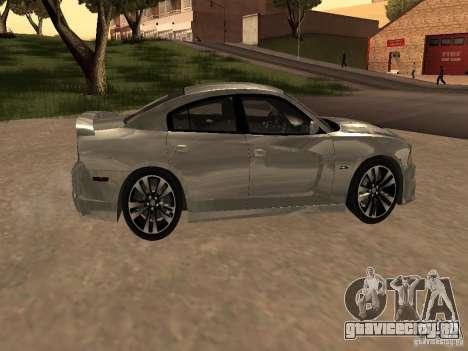 Dodge Charger SRT8 2011 V1.0 для GTA San Andreas вид сзади