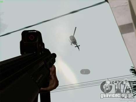 AUG-A3 Special Ops Style для GTA San Andreas шестой скриншот