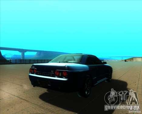 Nissan Skyline GT-R R32 1993 Tunable для GTA San Andreas вид сбоку