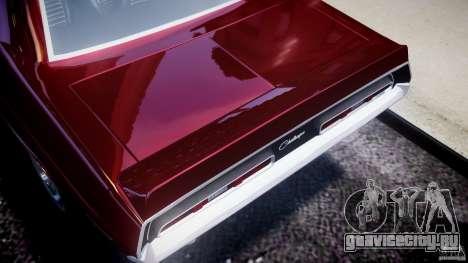 Dodge Challenger 1971 для GTA 4 вид изнутри