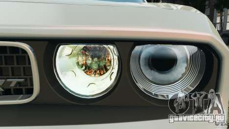 Dodge Challenger SRT8 392 2012 для GTA 4 колёса