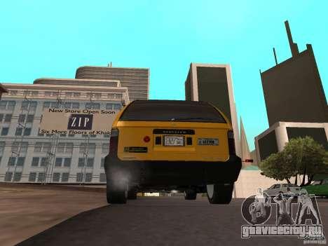 Cabbie  из GTA 4 для GTA San Andreas вид слева