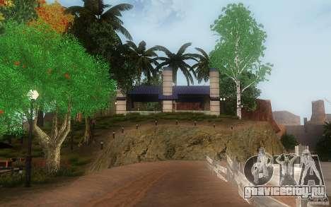 New Country Villa для GTA San Andreas девятый скриншот