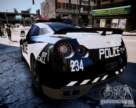 Nissan Spec GT-R Enforcer для GTA 4 вид сзади слева