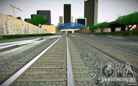 HD Рельсы для GTA San Andreas шестой скриншот