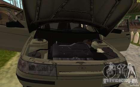 ВАЗ 21103 для GTA San Andreas вид снизу