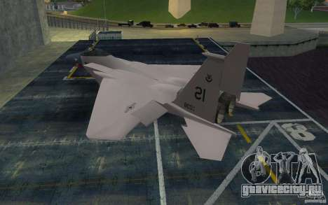F-15 для GTA San Andreas вид слева