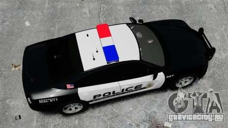 Dodge Charger 2013 Police Code 3 RX2700 v1.1 ELS для GTA 4 вид справа