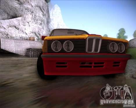BMW E21 для GTA San Andreas вид сбоку