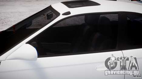 Honda Civic Si 1999 JDM [EPM] для GTA 4 вид изнутри