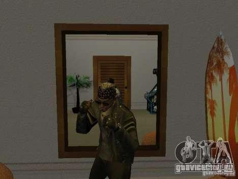 Куртка с черепом для GTA San Andreas третий скриншот
