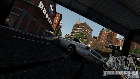 Tampa из GTA EFLC для GTA 4 вид сзади слева