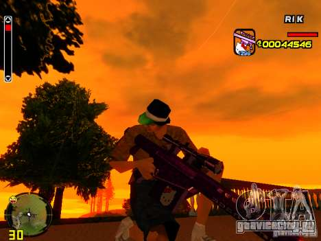 Hello Kitty weapon для GTA San Andreas пятый скриншот