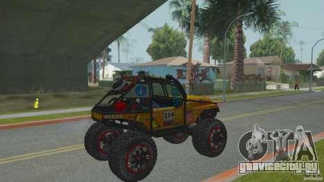 Jeep CJ-7 4X4 для GTA San Andreas вид справа