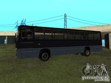 Ikarus C60 для GTA San Andreas вид слева