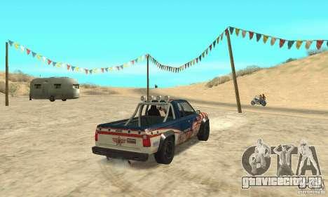 Nevada v1.0 FlatOut 2 для GTA San Andreas вид слева
