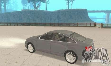 Audi A6 3.0 TDI quattro 2004 для GTA San Andreas