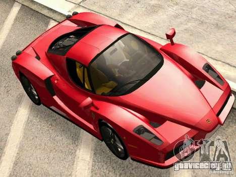 Ferrari Enzo Novitec V1 для GTA San Andreas вид сзади слева