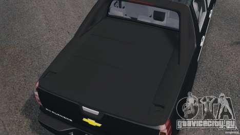 Chevrolet Avalanche Stock [Beta] для GTA 4 вид сверху