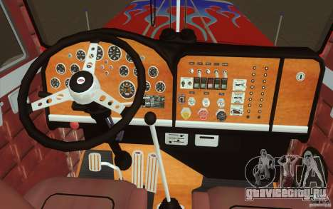 Peterbilt 379 Optimus Prime для GTA San Andreas вид сверху