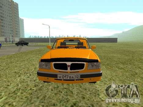ГАЗ 17310 Трофим для GTA San Andreas вид справа