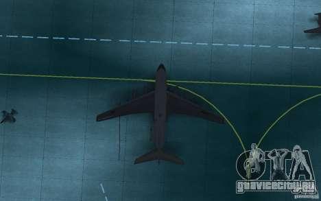ИЛ 78 Танкер для GTA San Andreas вид справа
