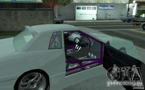 Elegy MS R32 для GTA San Andreas вид справа