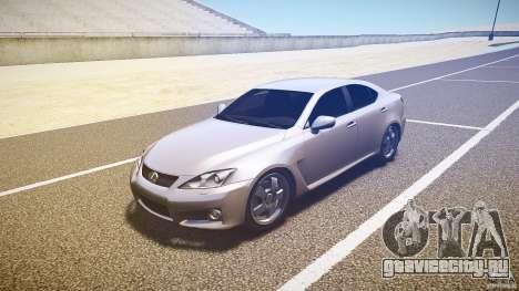 Lexus IS F для GTA 4 вид слева