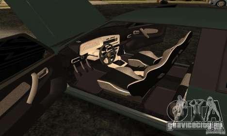 ВАЗ 2113 Ferrari для GTA San Andreas вид изнутри