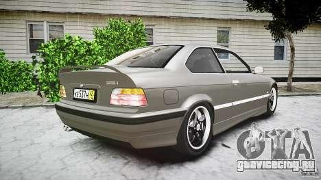 BMW E36 328i v2.0 для GTA 4 вид сбоку