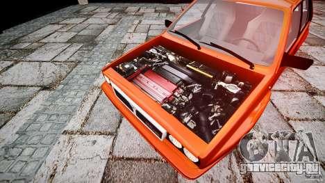 Lancia Delta HF 4WD для GTA 4 вид справа