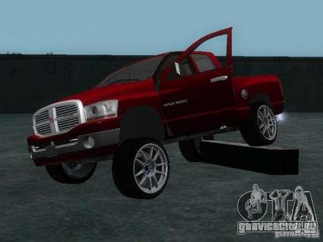 Dodge Ram 1500 v2 для GTA San Andreas вид сбоку