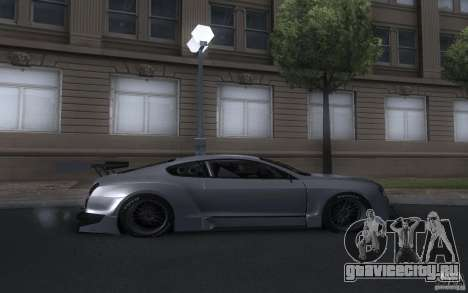 Bentley Continental Super Sport Tuning для GTA San Andreas вид справа