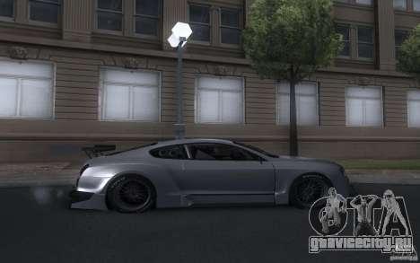 Bentley Continental Super Sport Tuning для GTA San Andreas вид справа
