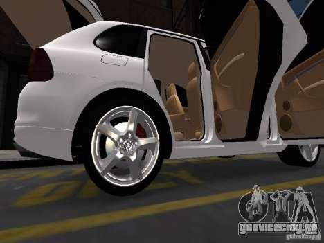 Porsche Cayenne Turbo 2003 v.2.0 для GTA 4 вид сверху