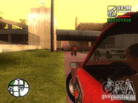 Blade из FlatOut для GTA San Andreas вид сзади