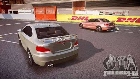 BMW 135i Coupe v1.0 2009 для GTA 4 вид сбоку