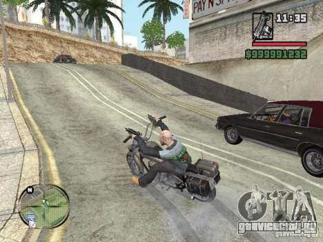 Vagos Biker для GTA San Andreas второй скриншот