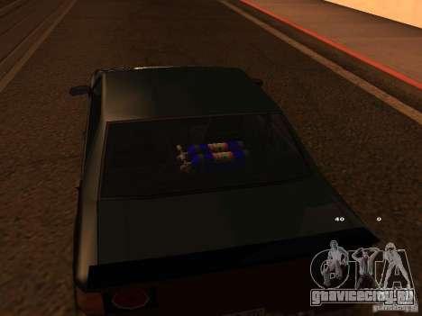 New Sultan для GTA San Andreas вид справа