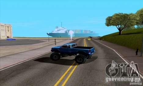 ENB Series v1.4 Realistic for sa-mp для GTA San Andreas четвёртый скриншот
