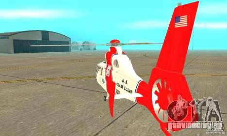 AS-365N береговой охраны США для GTA San Andreas вид справа