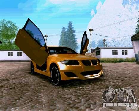 BMW 135 Tuning для GTA San Andreas вид справа