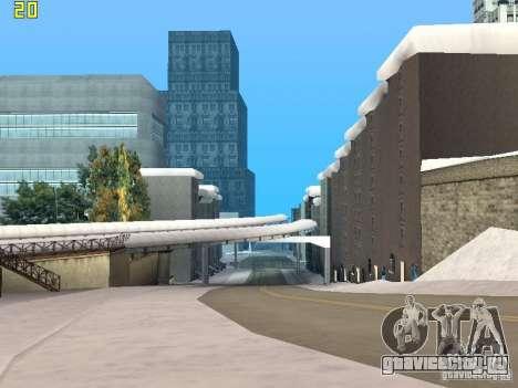 Полёт в Либерти Сити для GTA San Andreas