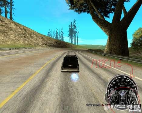Perenniel Speed Mod для GTA San Andreas третий скриншот