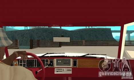 Dodge Aries 1983 для GTA San Andreas вид справа