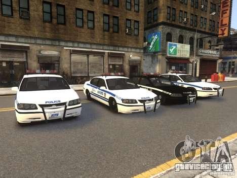 Chevrolet Impala 2003 NYPD V2.0 для GTA 4