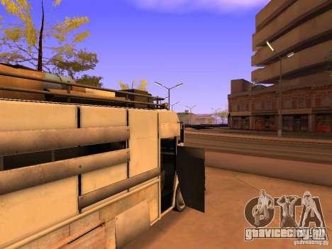 Monster Van для GTA San Andreas вид снизу