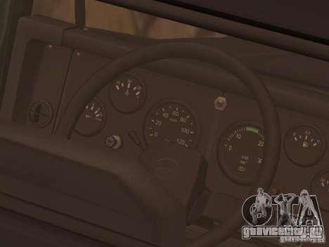 КрАЗ 260V для GTA San Andreas вид сбоку
