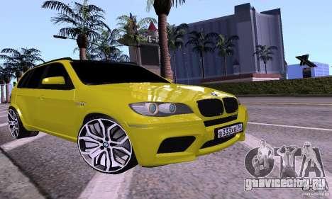 BMW X5М Gold для GTA San Andreas
